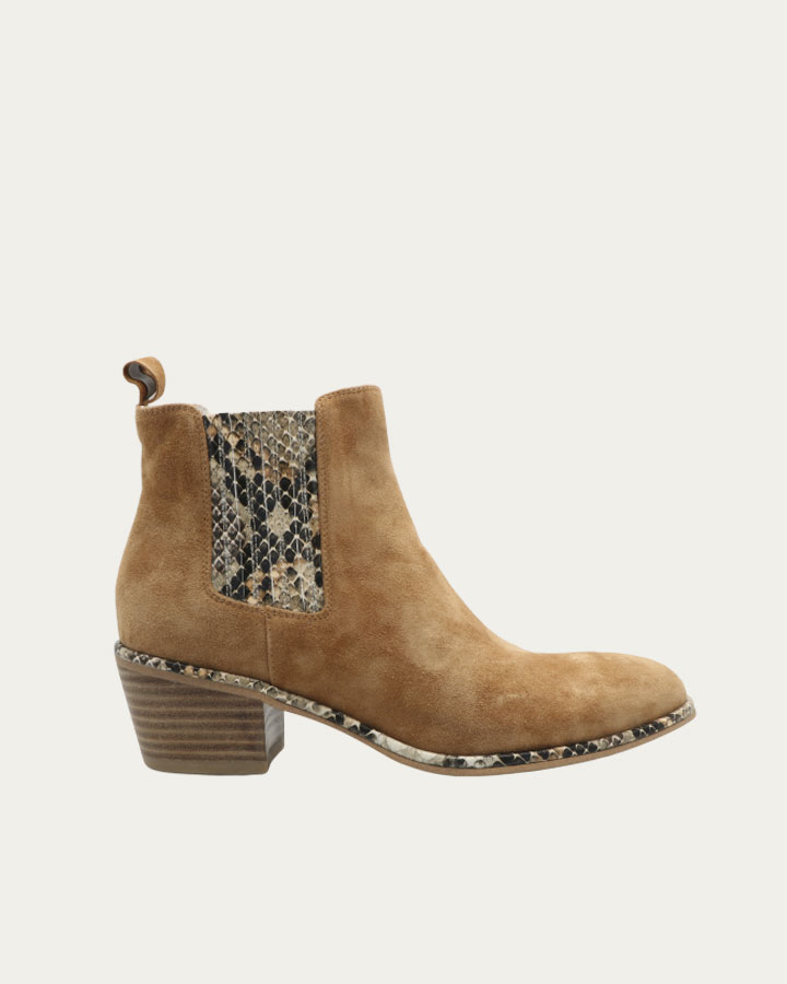 Boots Nina cognac