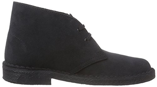 clarks desert boot damen derby schn rhalbschuhe blau navy suede 41 eu 7 damen uk. Black Bedroom Furniture Sets. Home Design Ideas