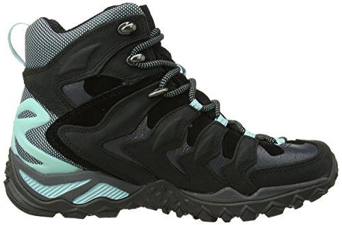 merrell chameleon shift mid gtx chaussures de randonn e tige basse femme noir black