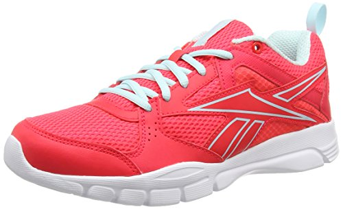 reebok trainfusion 5 0 chaussures de fitness femme rose neon cherry cool breeze white 39. Black Bedroom Furniture Sets. Home Design Ideas