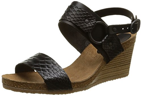 kickers spair sandales femme noir 41 eu. Black Bedroom Furniture Sets. Home Design Ideas