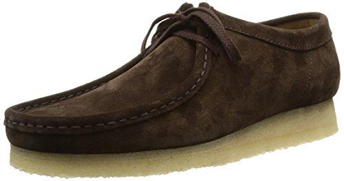 clarks originals wallabee boots homme marron daim marron fonc 39 5. Black Bedroom Furniture Sets. Home Design Ideas