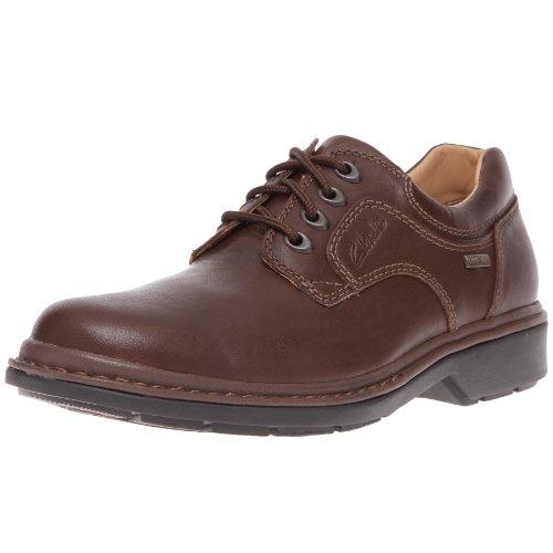 clarks rockie lo gtx chaussures de ville lacets pour homme 48 marron ebony leather 48. Black Bedroom Furniture Sets. Home Design Ideas