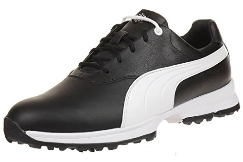 Puma Golf Ace Leather Men Golfschuhe Golf 188658 04 black