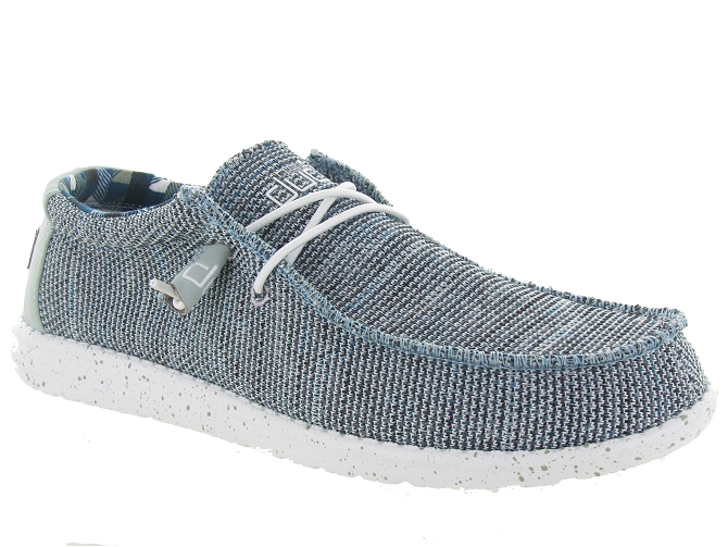 Hey dude baskets et sneakers wally sox argent4446005_1