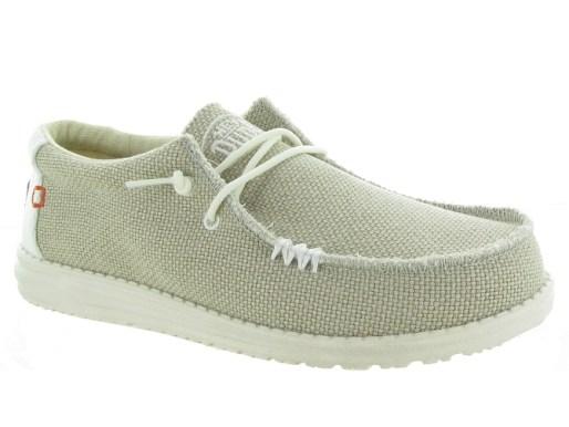 Hey dude baskets et sneakers wally naturel beige4703601_1