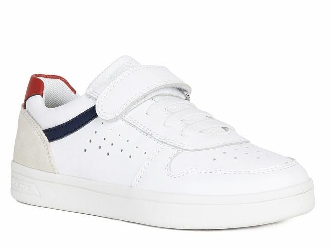 Geox baskets et sneakers j155vd djrock blanc4711401_1