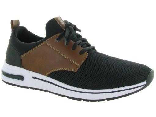 Rieker baskets et sneakers b4761 noir4724101_1