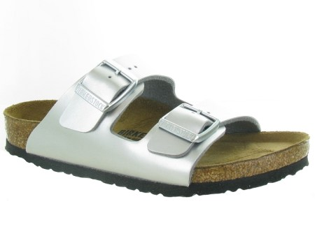 Birkenstock sandales et nu pieds arizona argent7142902_1