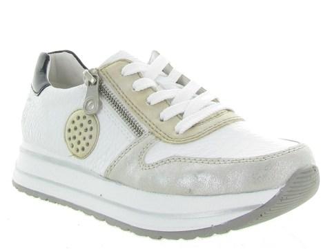 Rieker baskets et sneakers n3512 blanc7177601_1