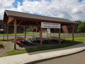 Westfield/Mayville Rotary Club Pavilion at the Chautauqua Safety Village