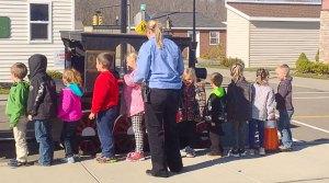 Children learn Traffic safety