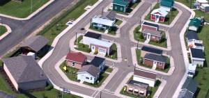 Aerial view of Chautauqua Safety Village