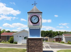Whimsical Clock Tower