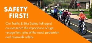 Safety First! Banner