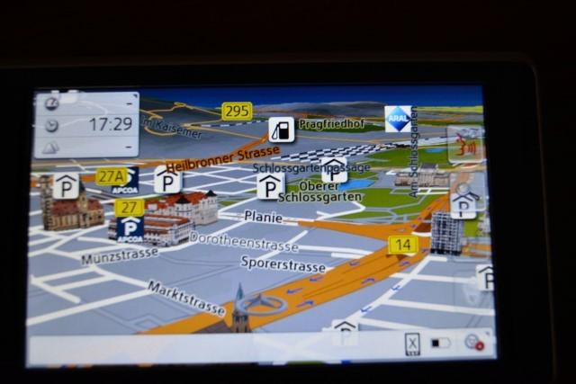 Becker professional.5 LMU Navigation