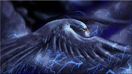 Thunderbird, ser sagrado dos trovões(imagem ilustrativa)