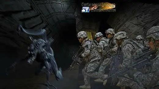 O dia em que vários militares mexicano