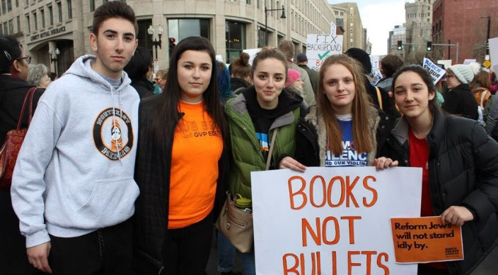 Reform Jewish students at March for Our Lives