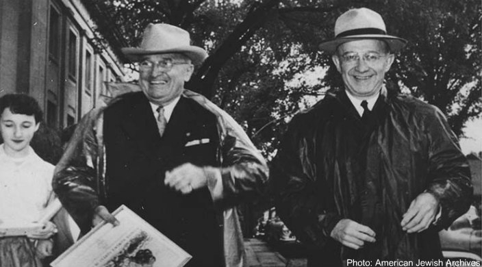 President Harry S. Truman and Eddie Jacobson