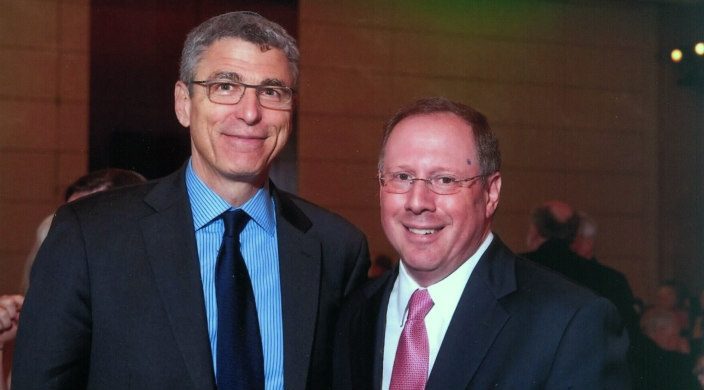 "Rabbi Rick Jacobs and Rabbi Aaron Panken, z""l"