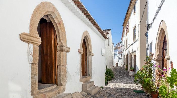 Medieval Sephardic synagogue in Castelo de Vide, Portugal