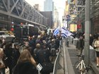 """Protest Erupts Outside New York Times Offices Over Anti-Semitic Cartoon"""