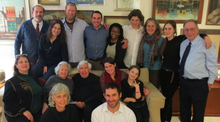 The Braun family (16 people) in 2015