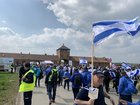Today I participated in the March of the Living. It was an uplifting experience that I'll never forget. עם ישראל חי