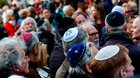 Germans urged to wear Jewish skullcap ahead of anti-Israel protests