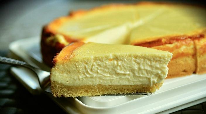 Round cheesecake
