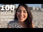 100 people from 0-100 counting in Hebrew