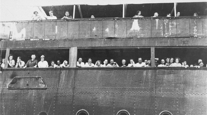 Passengers aboard the ill-fated MS St. Louis