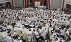 Watch: Yeshiva students dance with emotion after Yom Kippur