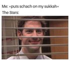 Who else is building a sukkah today?