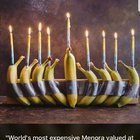 Worlds most expensive Hanukkiah