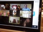 Although corona virus kept us apart for Passover, we decided to have our sedar over zoom!