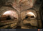 Ancient Jewish catacomb dated to 2nd century CE discovered in 1919 under a villa in Rome
