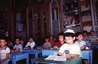 A scene in a Jewish school shortly before the final aliyah of Syrian Jewry (Damascus; 1992)