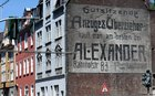 During renovation, German town finds 110-year-old mural for a Jewish business