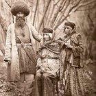 Mountain Jews from Azerbaijan in 1883