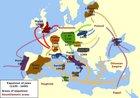 Expulsion Map Of Jews (1100-1600)