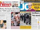 Coronavirus crisis forces Jewish Chronicle and Jewish News into liquidation