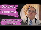 Parshat Haazinu The Guides From The Past
