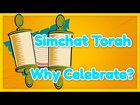Simchat Torah Why Do We Celebrate?
