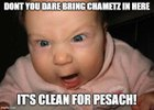 Cleaning for Pesach Memes - I made these a couple of years ago. We put them up on the doors of each room around the house as we get each room cleaned for pesach.