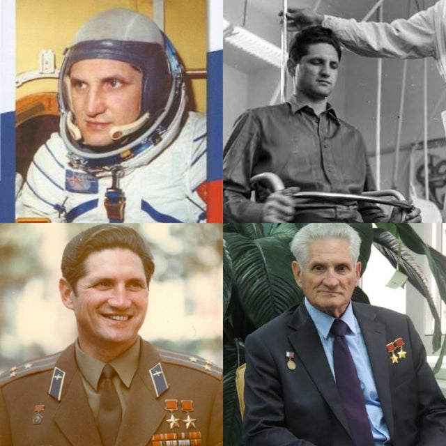 Boris Volynov, Soviet cosmonaut and the first Jewish person to travel to space (Soyuz 5 & Soyuz 21). Twice recipient of the title of Hero of Soviet Union, he is currently the last surviving member of the original group of cosmonauts.