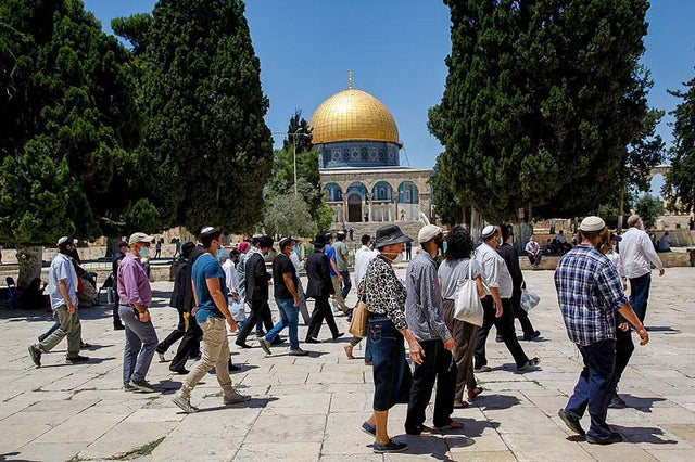 Israel Closes Temple Mount to Jews, May 4-8