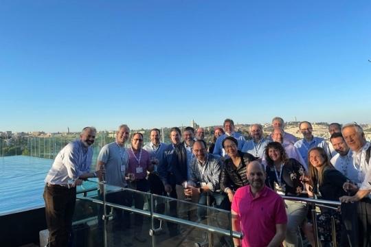 group of rabbis in israel