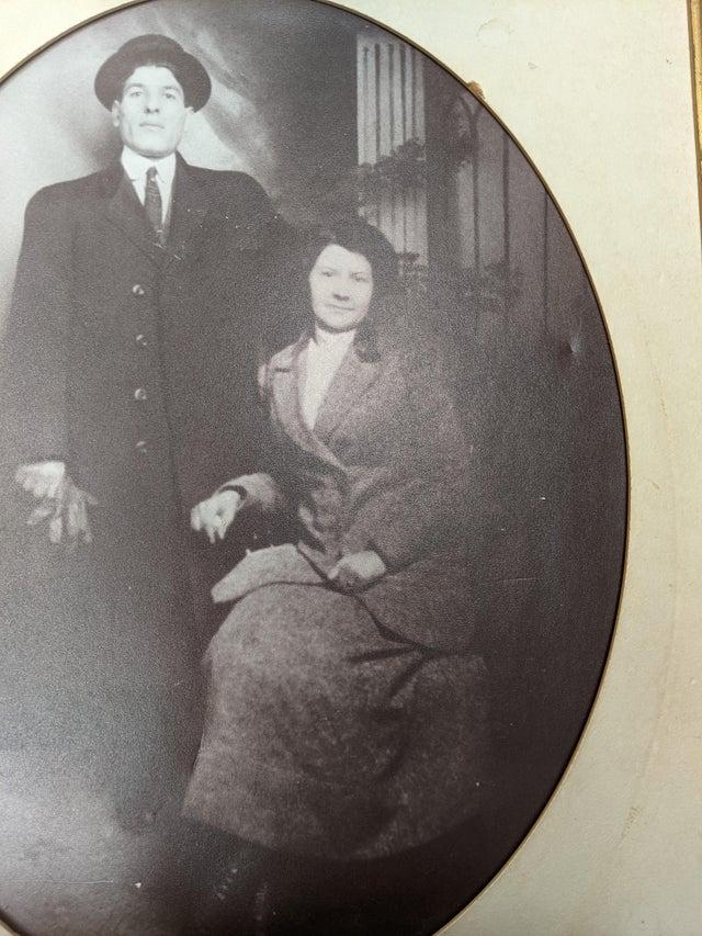 My great great grandfather and great great grandmother